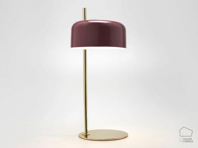 002s1189 Lámpara Sobremsa Vintage Tulipa Color