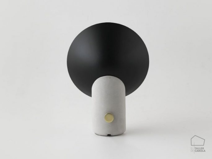 002s1232 Lámpara Sobremesa Arquitecto Cemento