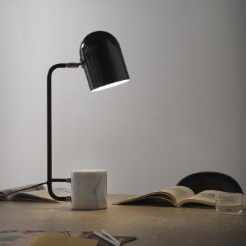002s1237 Lámpara Sobremesa Mármol y Metal