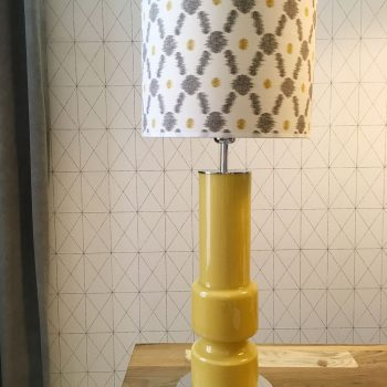 02snac104 Lámpara Sobremesa Pie Cristal con pantalla