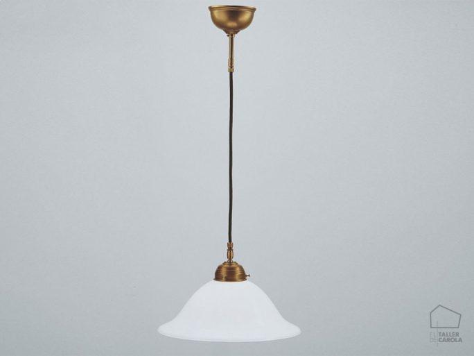 005cps60_38opb Lámpara suspensión Modernista Art Decó