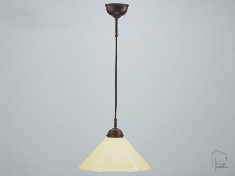 005cps60_70eba Lámpara Modernista marfil