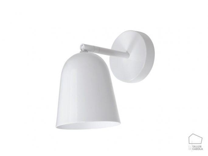 Aplique LUL Foco Redondeado Blanco