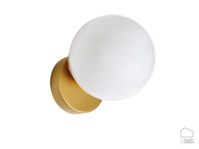 Aplique LYM Bola Opal Oro