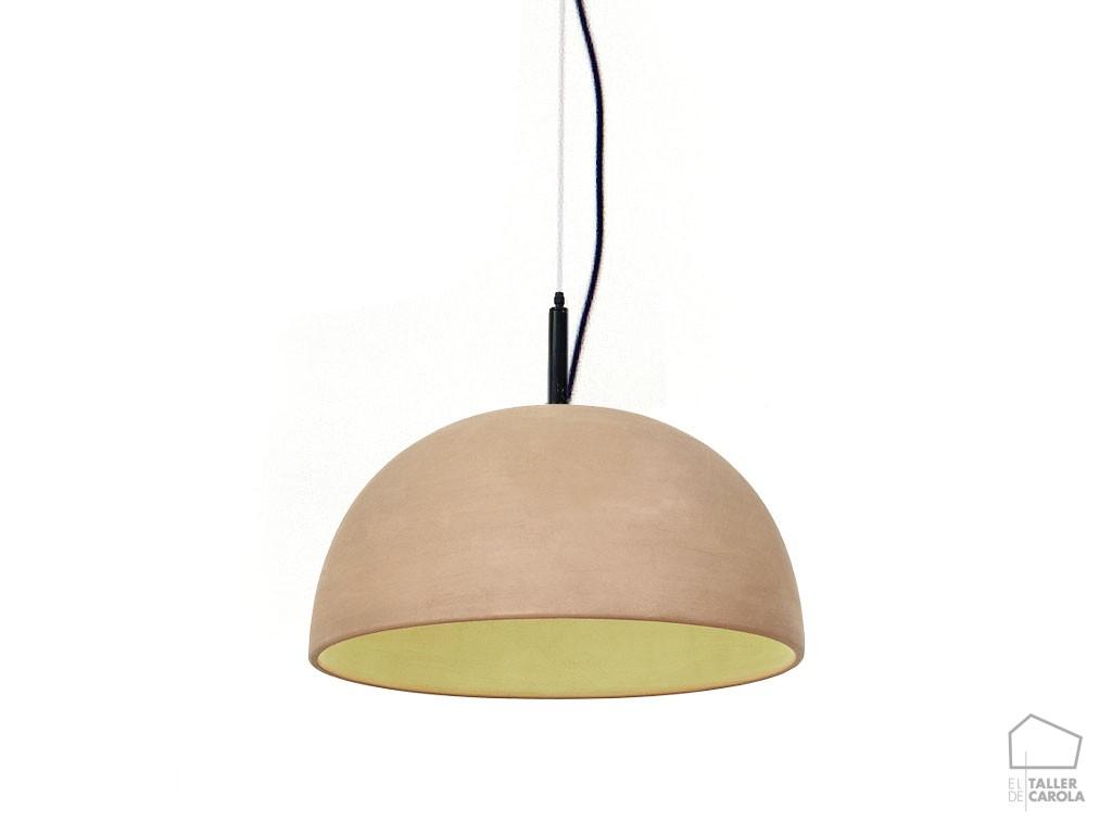 Lámpara ABS Barro Terracota