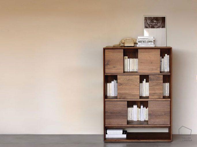 01551448 Librería de Madera