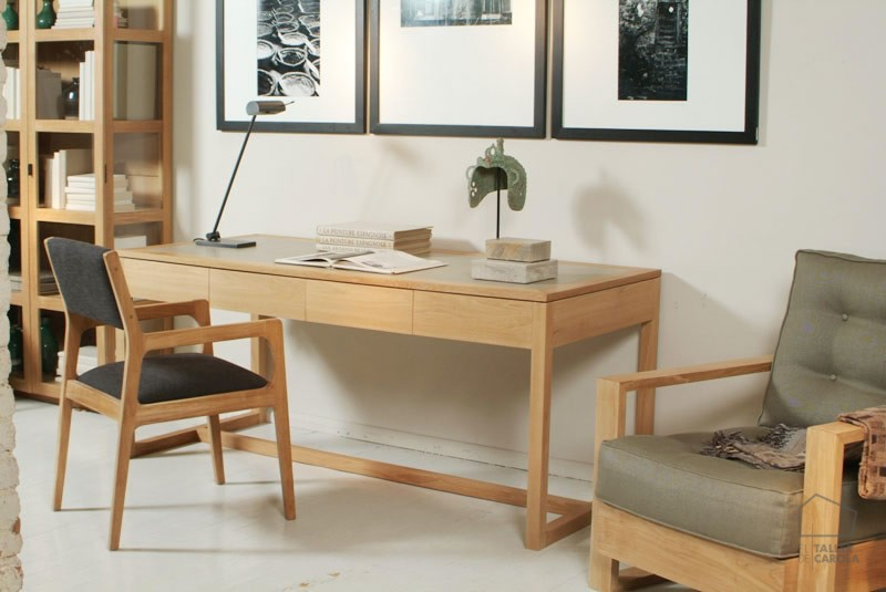 Escritorio madera vanni el taller de carola - El mercader de venecia muebles outlet ...