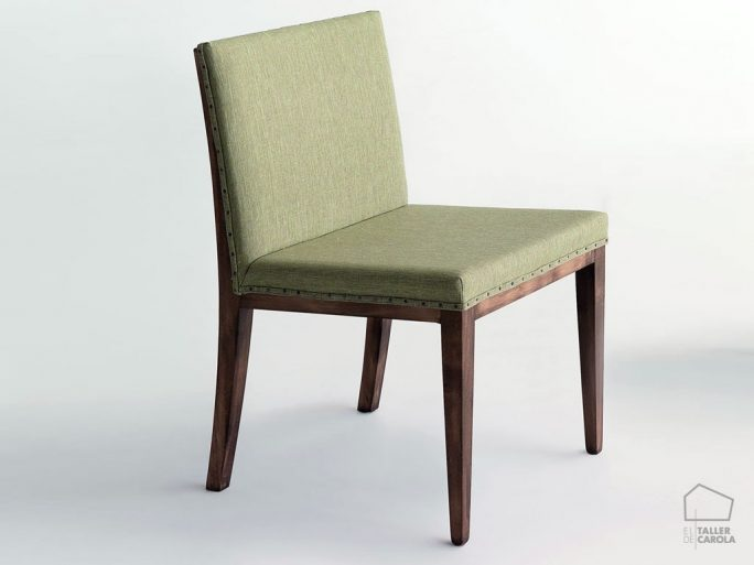 033max silla vintage tapizada 51x54xh80cm