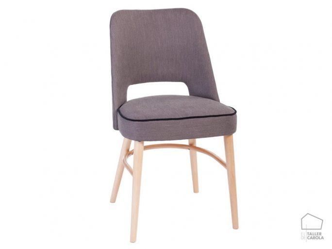033pau silla vintage tapizada 46x50xh81cm
