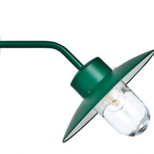Aplique Exterior BEL 02 Verde Oscuro