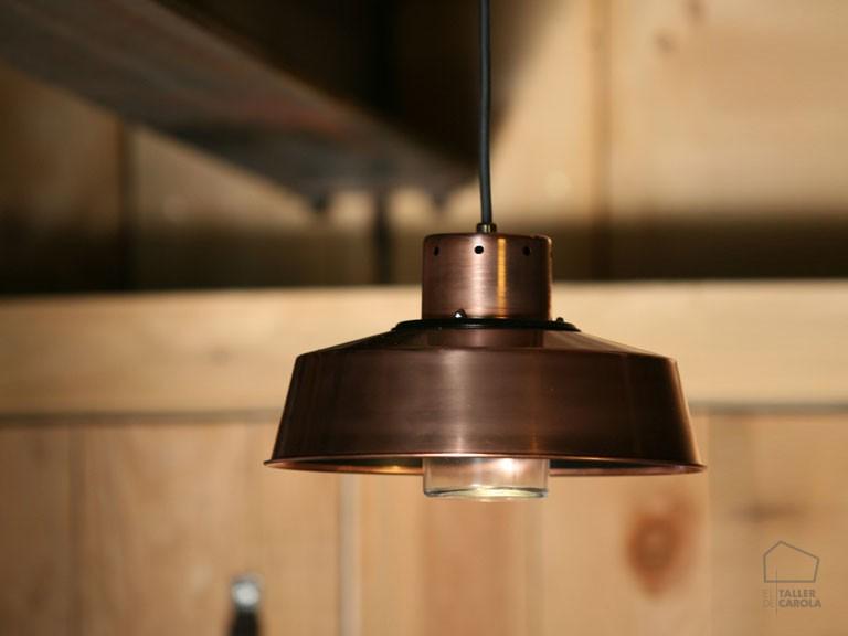 038cfk1084_82 Lámpara Suspensión Industrial Cobre