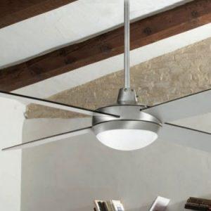 Ventilador Techo con luz 03950986 Gris