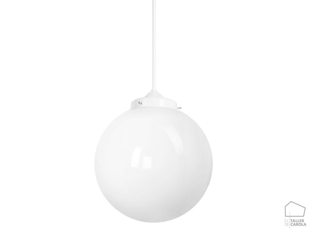 Lámpara MOO Bola Vintage Blanco