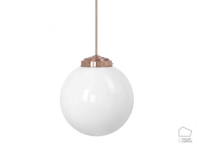Lámpara MOO Bola Vintage Cobre