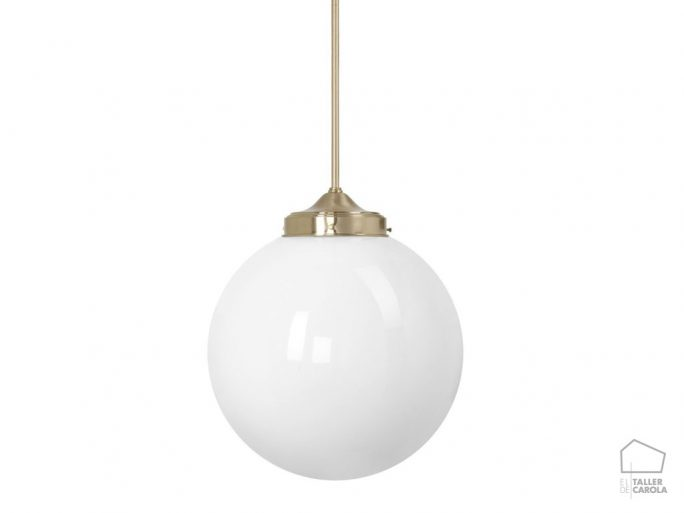 Lámpara MOO Bola Vintage Latón