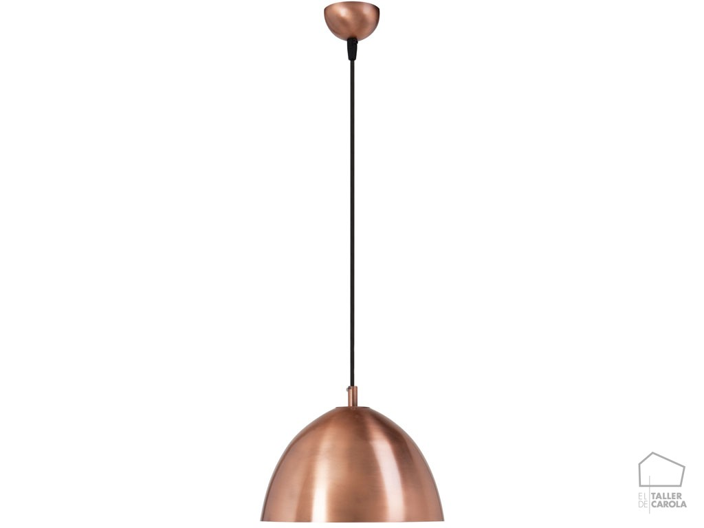 L mpara n rdica lit cobre el taller de carola - Lamparas nordicas ...