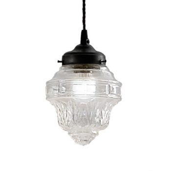 039c6000laf lámpara vintage tulipa transparente