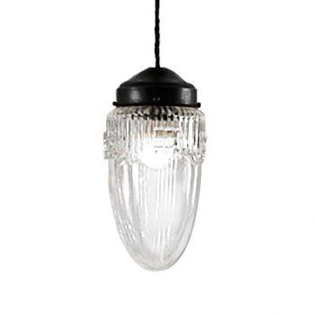 039c6002laf lámpara vintage tulipa transparente