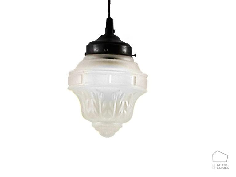 039c6000laf lámpara vintage tulipa ácido