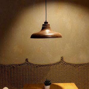 Lámpara Industrial CAP Óxido 40