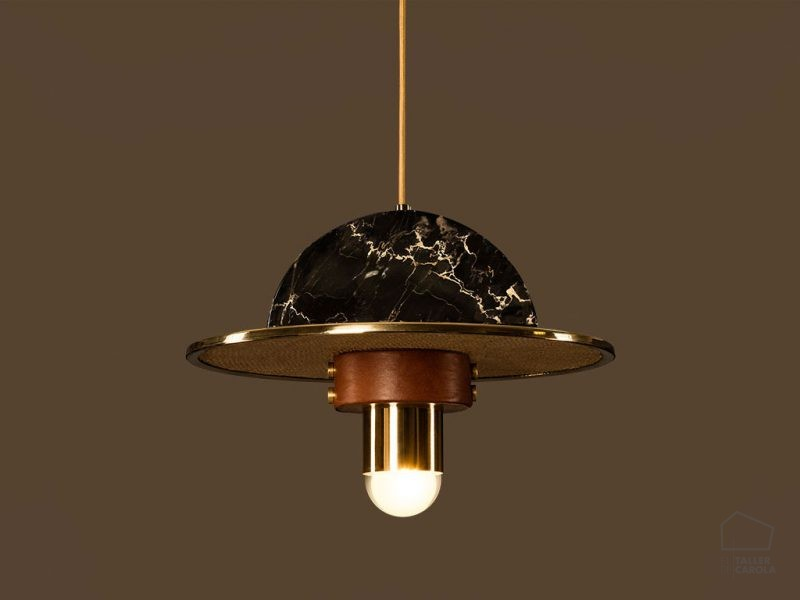 041csha Lampara Colgante Art Deco