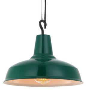 Lámpara Campana Gancho CMD6168 VERDE