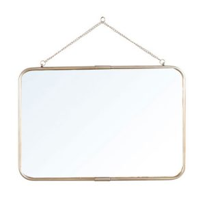 Espejos de estilo vintage y apliques art dec ba os con for Espejo horizontal