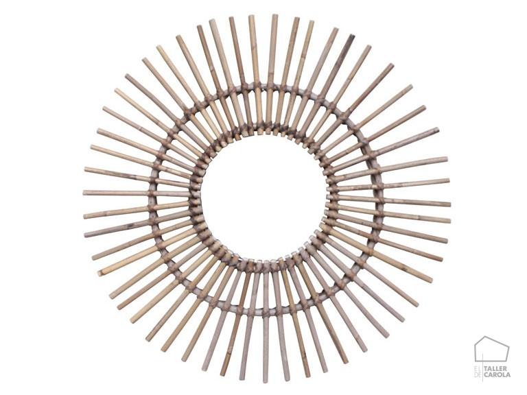 05419170 Espejo Bambú