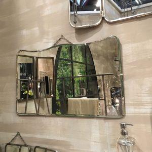 Espejos de estilo vintage decora tus paredes con bonitas for Espejo horizontal