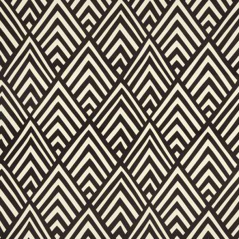 056_mik_06 Tela Geométrico Negro