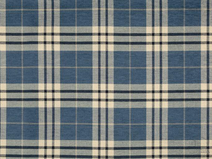 Tela Cuadro Escocés Azul 056glo_tud5