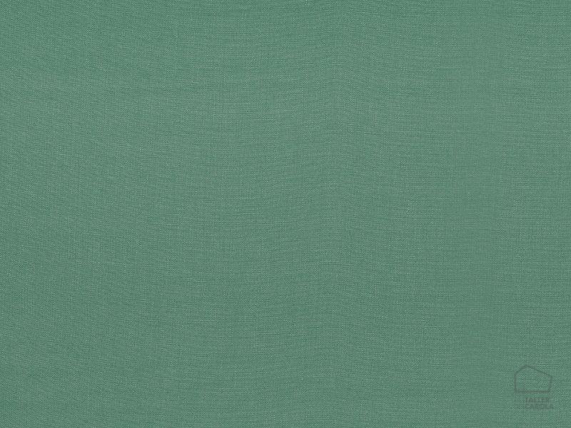 056got3997 Tela lino Liso Verde Turquesa