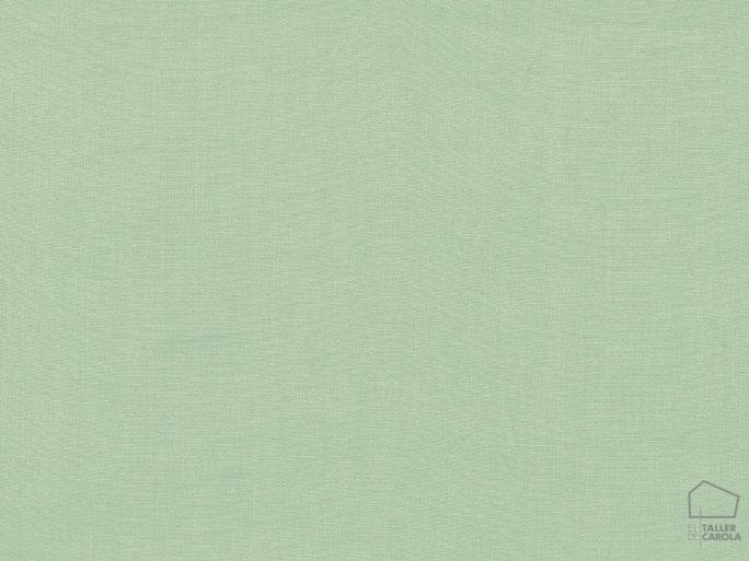 056got3998 Tela Lino Liso Verde Agua