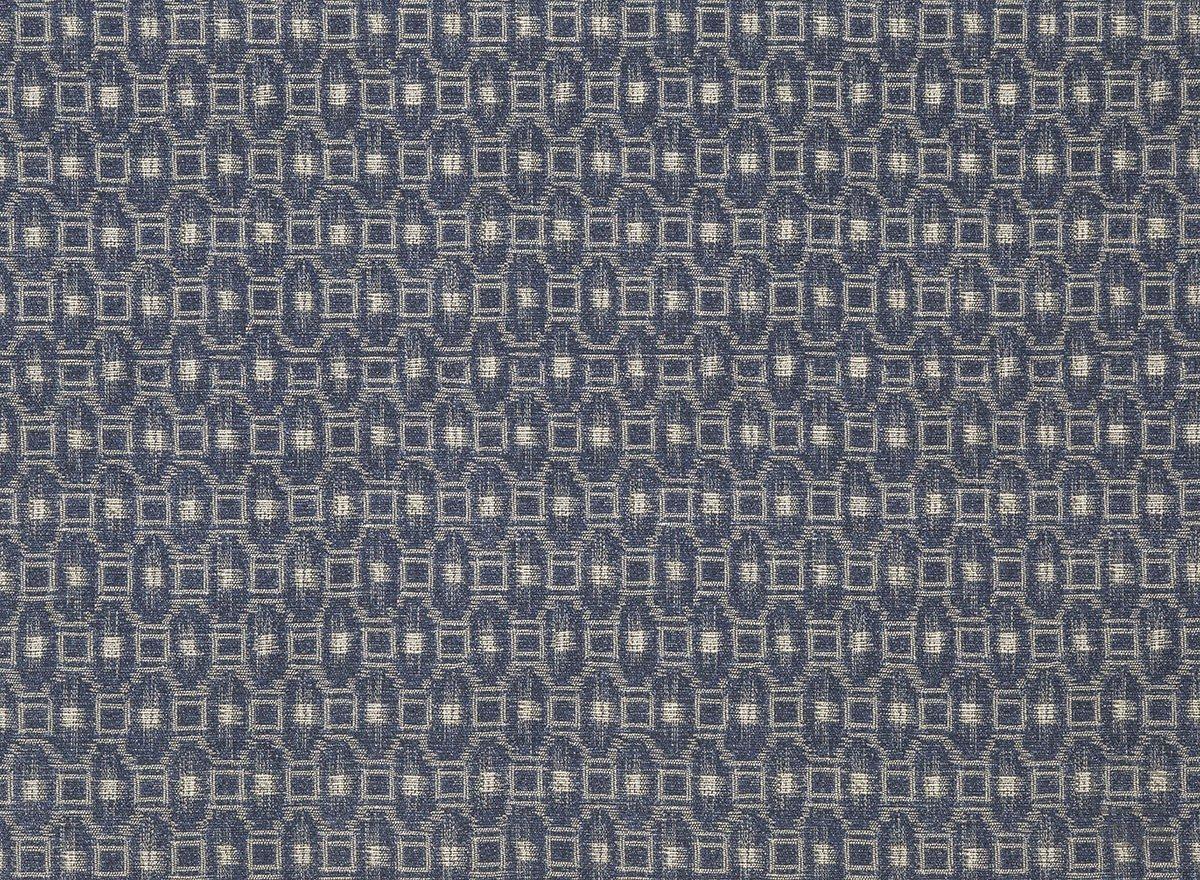 Tela Ikat Geométrico Azul Índigo