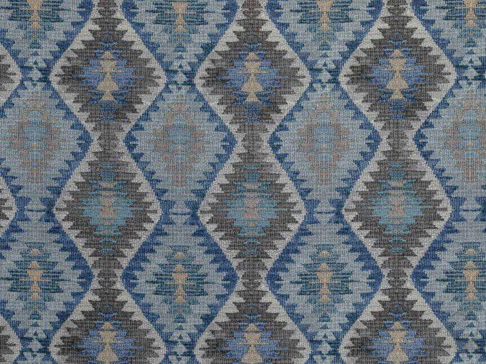 Tela Kilim LEW Azul