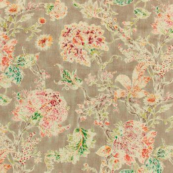 056mil03 Telas Flores Estampado Topo