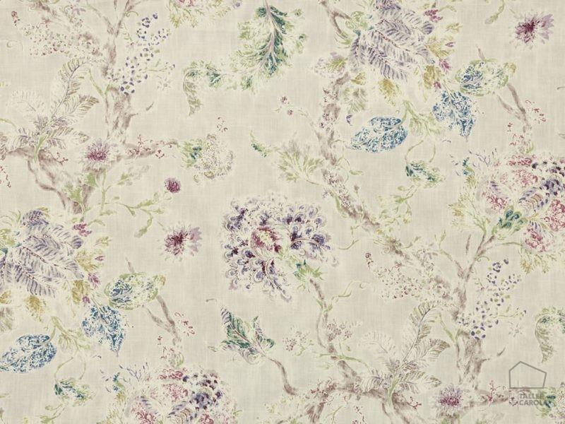 056mil05 Telas Flores Estampado Perla