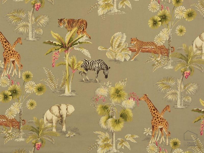 056wil01 Tela estampado animales jungla