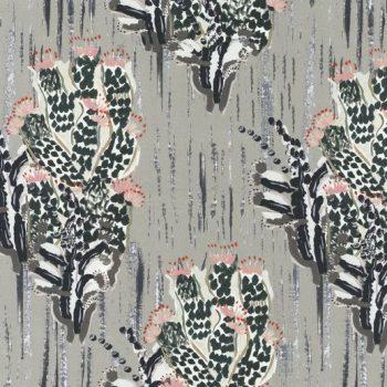 057pit3890_01_80 Tela Cactus Algodón Gris