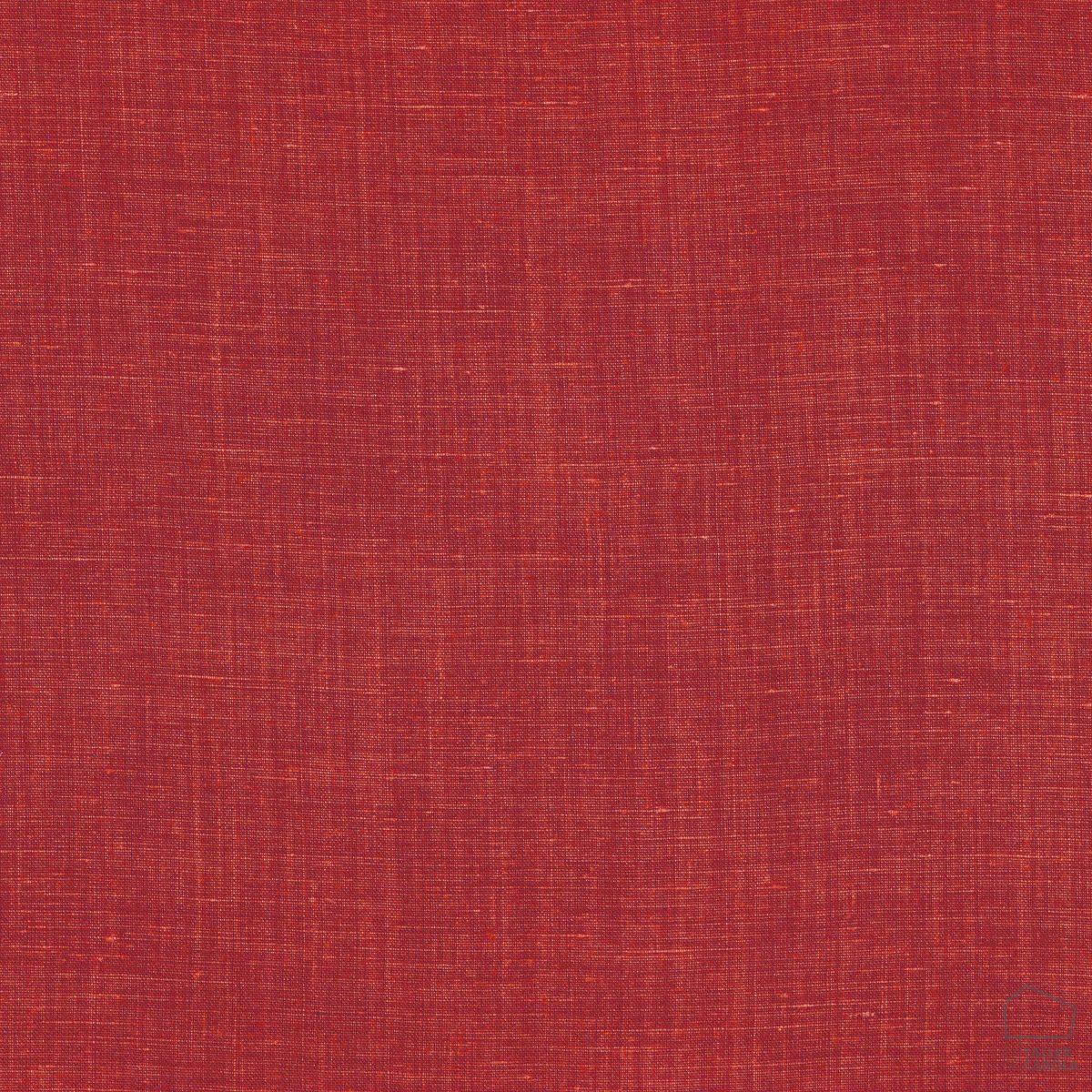 057sul38593261 Tela Lino Liso Desgastado Rojo