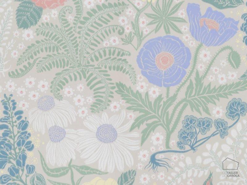 059416_31_lis_fam Papel Pintado Flores Vintage
