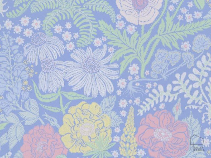 059416_46_lis_fam Papel Pintado Vegetal Nordico Azul