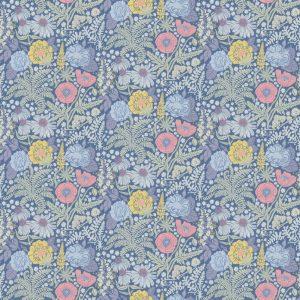 059416_86_lis_fam Papel Pintado Flores Nordicas Azul