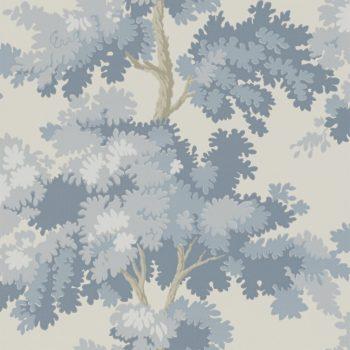 059444_36rap Papel pintado árboles Azul
