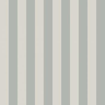Papel Pintado Rayas Turquesa. Inspiración de Estilo Nórdico