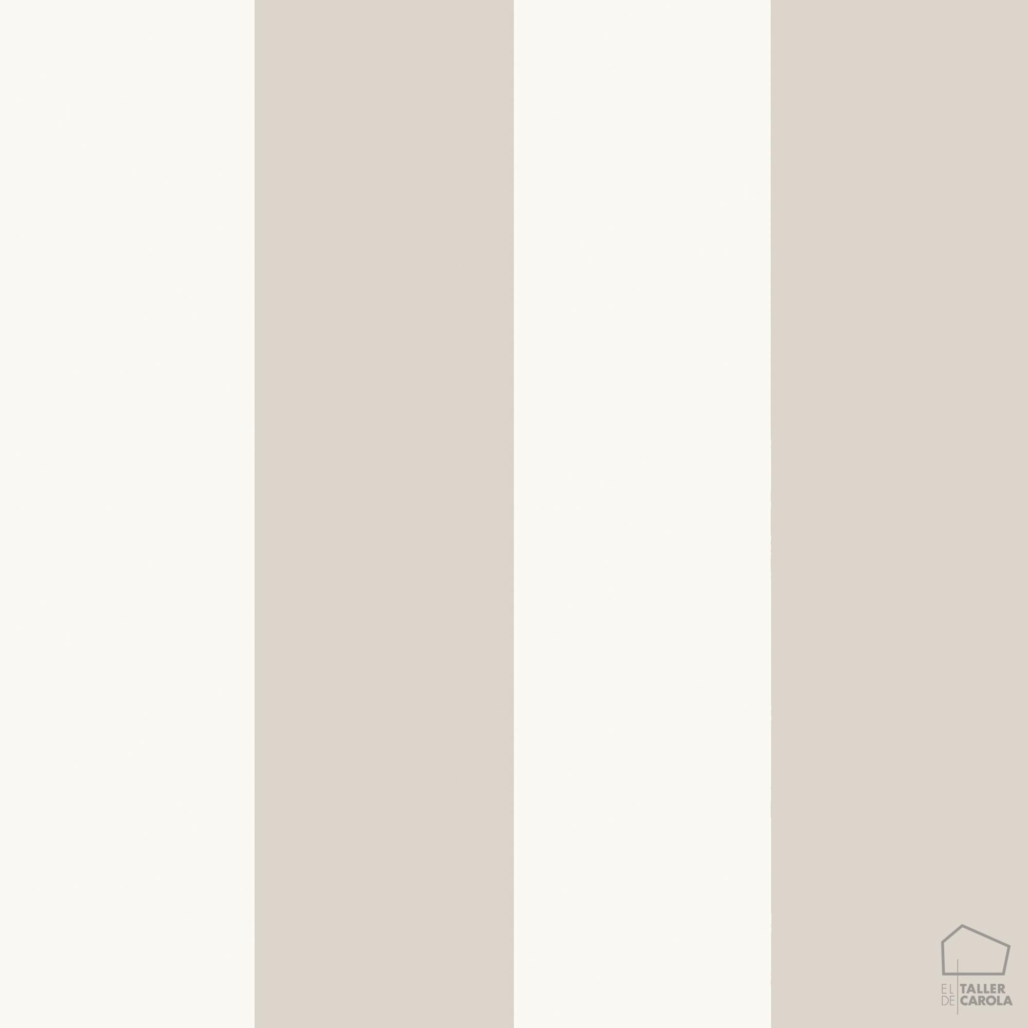 Papel pintado rayas gris claro el taller de carola - Papel pintado gris ...