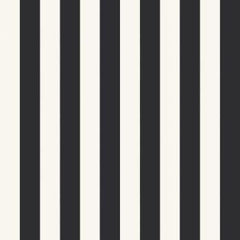059516_91ran_mag Papel Pintado Rayas Negro y Blanco