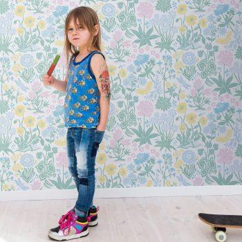 059592_01_lot_fam Papel Pintado Vegetal Infantil Color