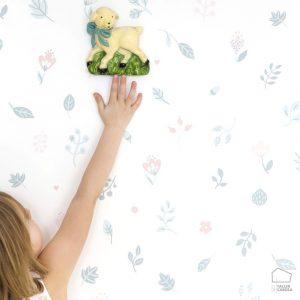 059593_11_hil_fam Papel Pintado Estilo Nórdico Infantil
