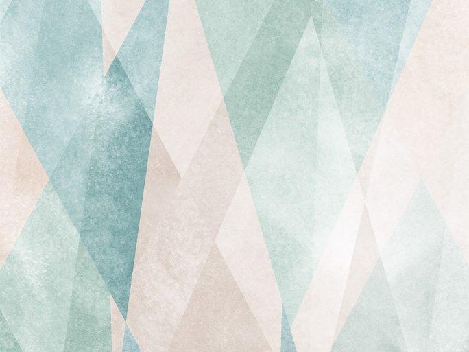 mural geometrico nordico colores pasteles 059631-18